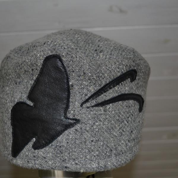 czapka z motylem